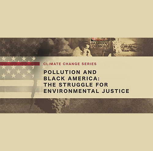 POLLUTION AND BLACK AMERICA